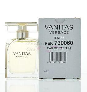 Vanitas By Versace Eau De Parfum Tester 33oz100ml Brand New With
