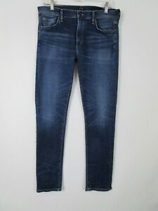 Citizens-of-Humanity-Size-30-Agnes-Mid-Rise-Slim-Straight-Jean-COH