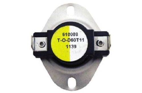 Supco L340 SPST Limit Control Thermostat Snap Disc L340-40F