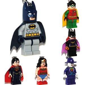 LEGO-Super-Heroes-Figuren-Schluesselanhaenger-Keychains-nach-Wahl-NEU