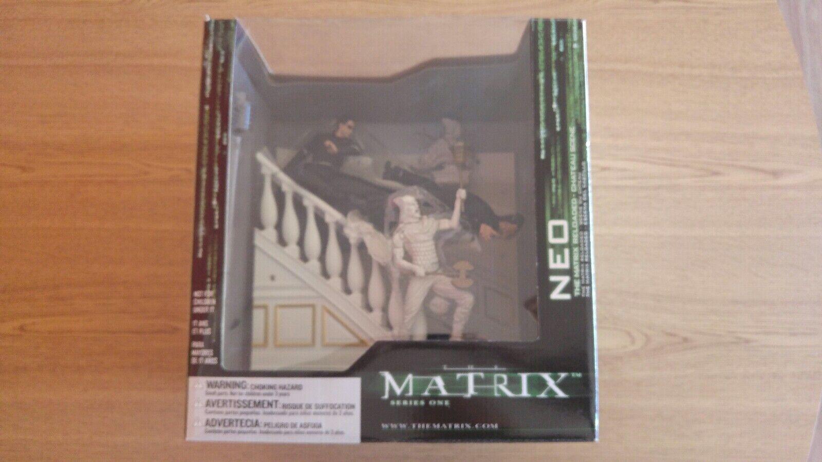 Matrix Neo Figure Chateau Scene