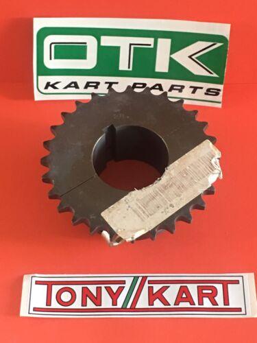 OTK #428 Aluminum 2-Pc 50mm Axle Sprocket 7075-T6  28 tooth Shifter Karts
