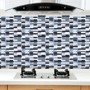 3DWaterproof-Wall-Paper-Sticker-Mosaic-Self-adhesive-Tile-Floor-Bathroom-Kitchen