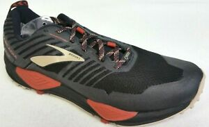 a69cabd2b37 New Men s Brooks Cascadia 13 GTX Running Shoes - Size 9 - Black ...