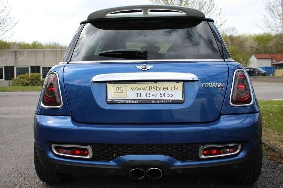 Mini Cooper S 1,6 184 aut. Benzin aut. Automatgear modelår