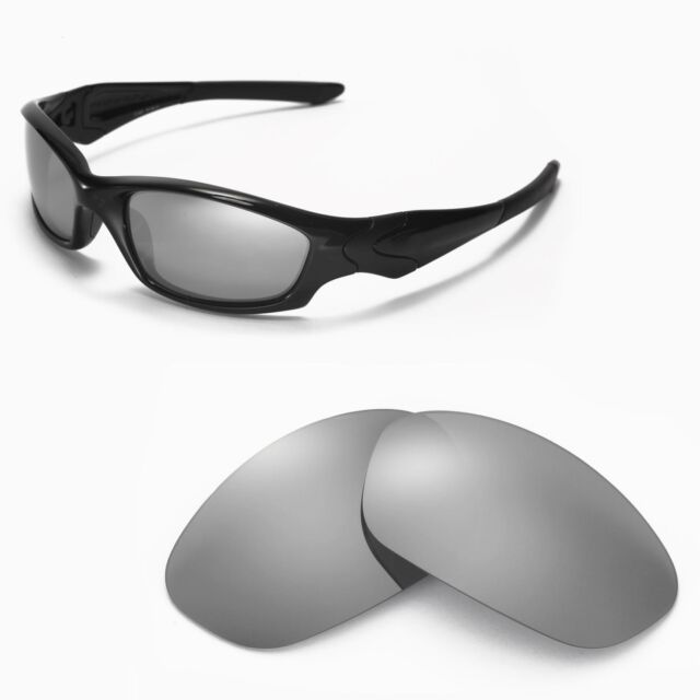 24b0222a4e Walleva Polarized Titanium Lenses for Oakley Straight Jacket for ...