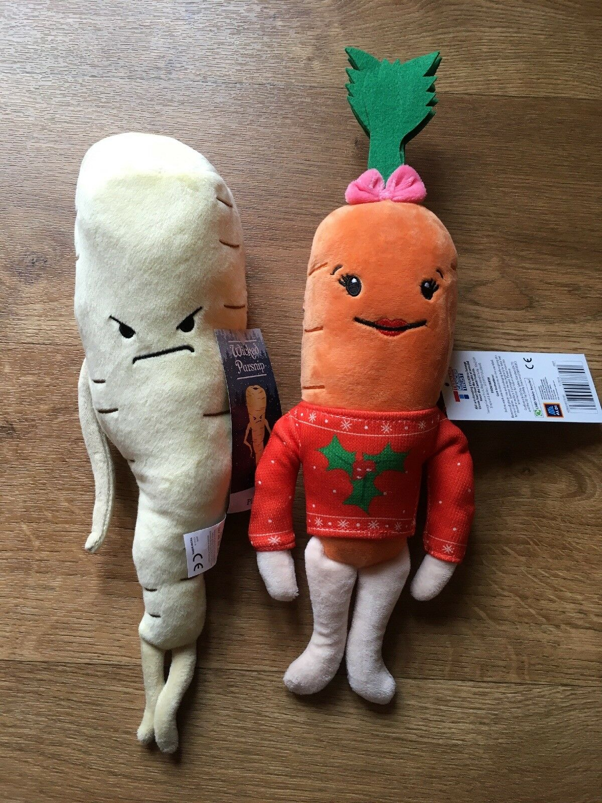BNWT ALDI 2018 Katie The Carrot & Pascal Plush The Parsnip Plush Pascal Toy 203aca