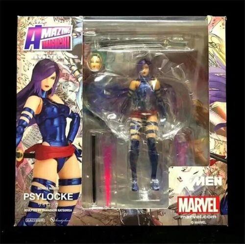 Revoltech Amazing Yamaguchi Action Figure Psylocke New in box B10D