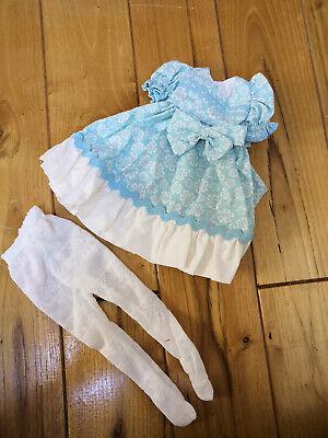 """Aqua Cuttie Dress Set For Effner Little Darling/tonner 14"""" Betsy Mc Call Estremamente Efficiente Nel Preservare Il Calore"""