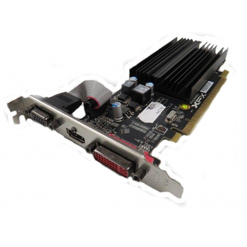 XFX ATI Radeon HD 5450 1GB DDR3 DVI + VGA + HDMI PCI-E Graphics Card