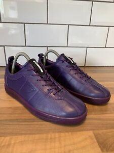 Ecco-Leather-Danish-Design-Purple-Comfort-Shoes-Pumps-Trainers-UK-7-WORN-ONCE