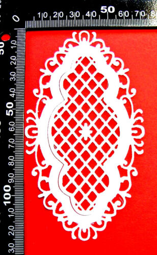 MD All Occasions 6 Ornate Anja/'s Vintage Frame Oval Die Cuts