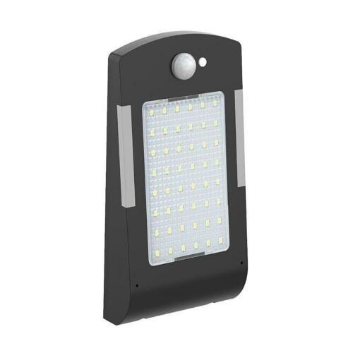 48 DEL Solaire Lumière Nuit PIR Détecteur de mouvement IP65 Étanche Jardin Chemin Mur Lampe