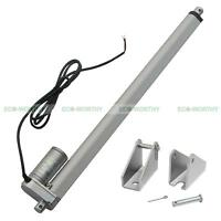 18 Linear Actuator, 340lbs 12 Volt Dc For Solar Tracking Solar Tracker Tracking