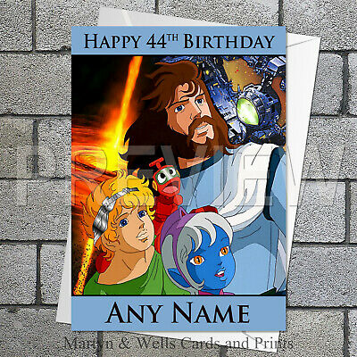 League of Legends birthday card plus envelope. 5x7 inches Personalised
