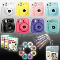 Fuji Fujifilm Instax Mini 8 Camera Instant Photo / Film / Close Up Lens / Pen