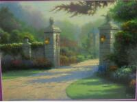 2001 Ceaco Thomas Kinkade Summer Gate 1000 Piece Puzzle Sealed U.s.a.