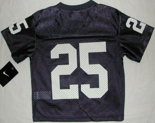 PENN STATE NIKE FOOTBALL JERSEY TODDLER 2T 3T 4T WHITE BLUE #1 #25 NWT