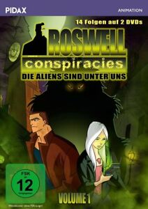 VOL-1-ROSWELL-CONSPIRACIES-ROSWELL-CONSPIRACIES-2-DVD-NEUF