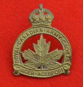 Canadian Army Royal Canadian Army Cadets Genuine Cap Badge - Maidstone, Kent, United Kingdom - Canadian Army Royal Canadian Army Cadets Genuine Cap Badge - Maidstone, Kent, United Kingdom