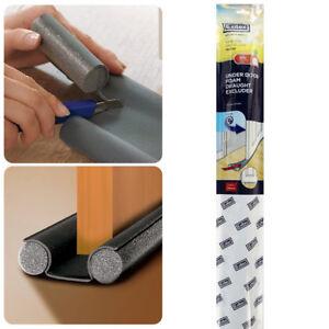 Adjustable Under Door Foam Draught Excluder Air Light Stop