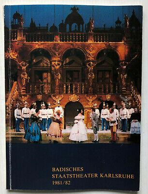 Qualifiziert Badisches Theater Karlsruhe 8 Autogramme Im Programmheft Größe 20 X 15 Cm Diversifiziert In Der Verpackung