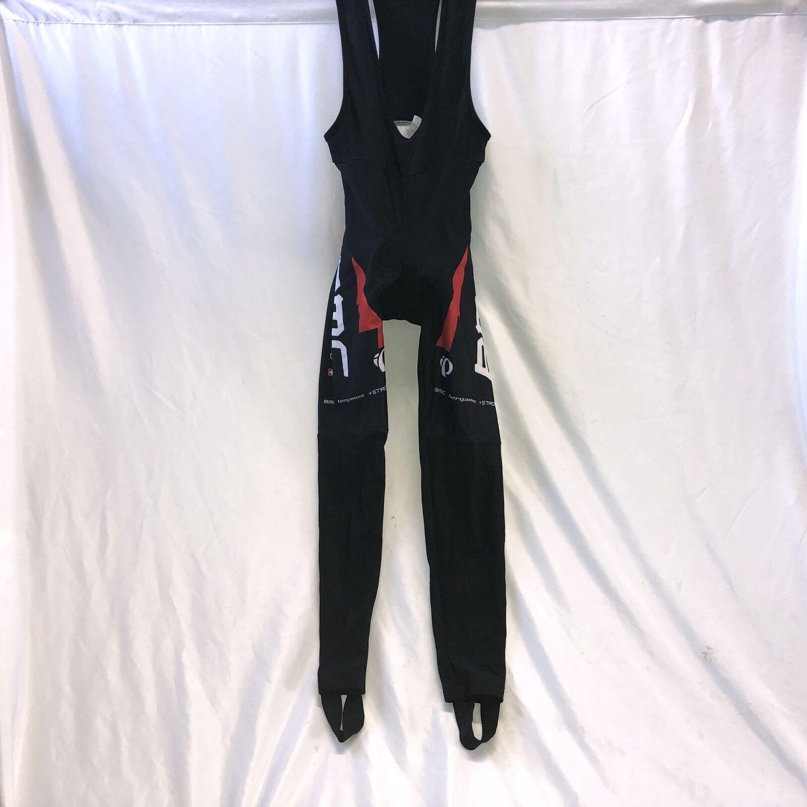 BMC Pro Cycling Team Pearl Izumi Mens Winter Bibtights Bibs Small Fleece Thermal