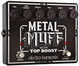 EHX-Electro-Harmonix-Metal-Muff-Distortion-with-Top-Boost-Guitar-Effects-Pedal