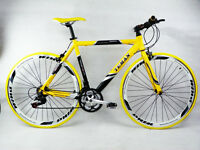 £30 Off - Teman Hybrid Bike Shimano 21 Gears Alloy Frame - 58cm