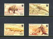 Indonesia 2000  #1911-4  Komodo Dragon  WWF  4v.   MNH  H322