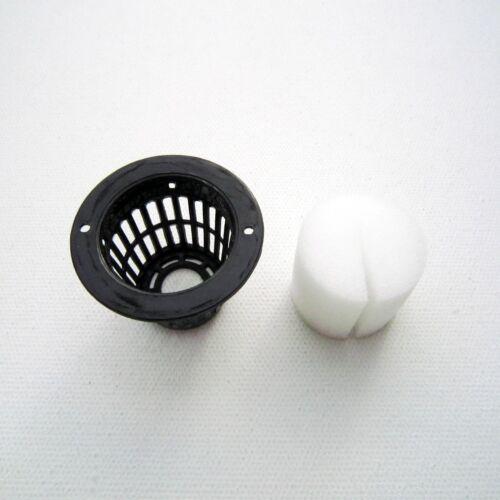 10 Mesh Pot Net Basket Clone Cloning Collar Foam Insert Hydroponic Aeroponic