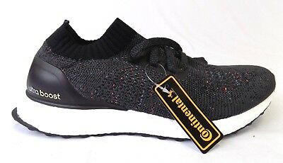new style 1f749 cbbe1 NEW MEN'S ADIDAS ULTRABOOST UNCAGED BLACK MULTICOLOR BB4486 SHOES SNEAKERS  | eBay