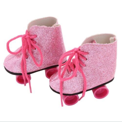 NEU Rollschuhe für Puppen Mit 43 cm Pink Baby Born/Sister passend zB