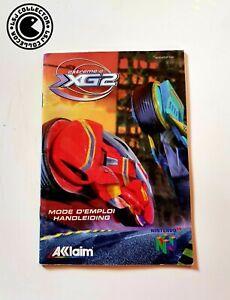 Extreme G XG2 - Nintendo 64 - Notice FAH
