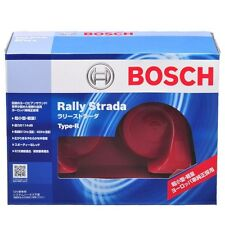 Horn of a car  BOSCH  Rally Strada-type  Red  Extraordinarily small  R BH-RS-R.