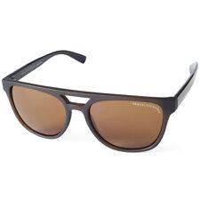 2ce1fb3313cc Armani Exchange AX4032 814473 Matte Black Brown Women s Sunglasses
