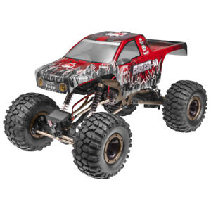 Redcat Racing Everest 10 1:10 Scale Rock Crawler Electric Brushed RC Truck, Red