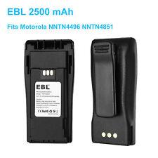 4851 CP150 CP200 CP040 PR400 EP450 Interphone Battery For Motorola NNTN4496