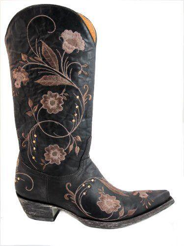 Old Gringo Women's L956-3 Julie Vesuvio Boots Chocolate Cowboy Boots Vesuvio 266471