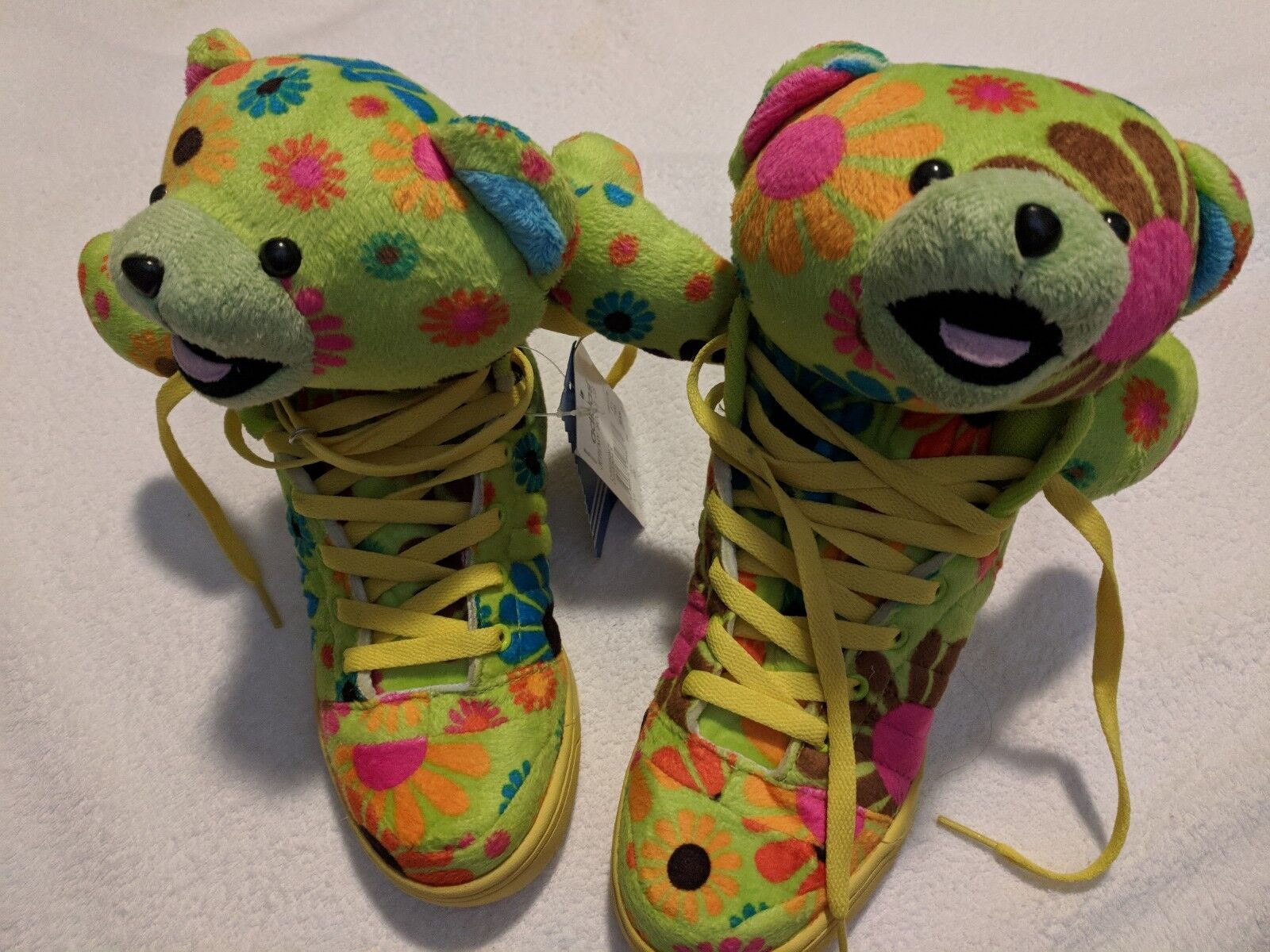 Flower bear high top size shoes size top 5 49a340