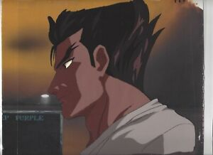 Street Fighter Ii V Anime Cel Ryu W Original Background Ebay