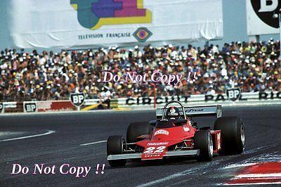 #pha.035859 Photo ENSIGN N176 PATRICK NEVE GRAND PRIX F1 LE CASTELLET 1976