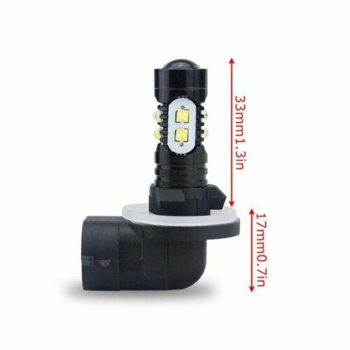 2X 881 886 894 LED Fog Light Bulbs Car HID White Bright 6000K Driving Lamps DRL