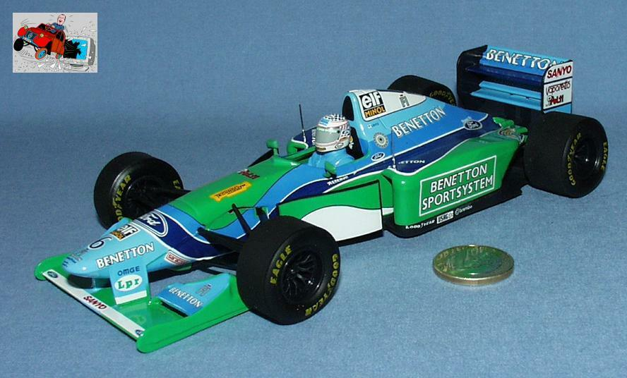 Onyx speed ref 5019a  benetton ford b194 j.j. letho (scale 1 24)