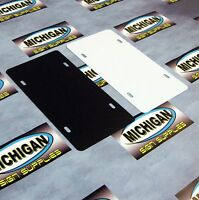 Plastic License Plate Blanks.050 ( 10 Pack ) Create Your Own Designs