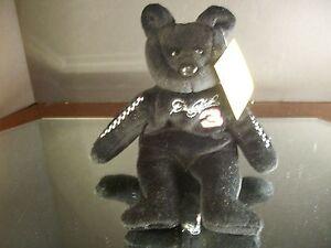 Rare Dale Earnhardt #3 23 Karat Gold'n Bears Beanbag Bear 1999