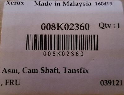 NEW OEM XEROX 8570 8870 8700 8900 Camshaft Transfix  008K02360