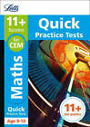 11+ Maths Quick Practice Tests Age 9-10 for the CEM tests (Letts 11+ Success) by Letts 11+, Philip McMahon (Paperback, 2016)