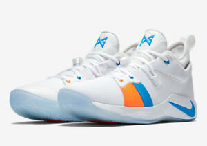 get cheap b1e90 c2cdd Details about Men's Nike PG 2 The Bait II Basketball Sneakers AJ2039 100  Size 8