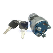 E320c Ignition Switch 9g 7641 9g7641 For Caterpillar Parts 4 Lines With 2 Keys